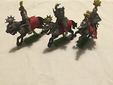 1971 Britains Deetail Knights 3 Mounted made in England #9