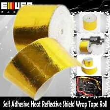 "Self Adhesive Heat Reflective Shield Wrap Tape Roll 2""X50 FT GOLD"