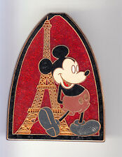RARE PINS PIN'S .. DISNEY PARIS TOUR EIFFEL MICKEY MOUSE TS 56 SOUVENIRS BIG ~16