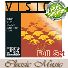 Thomastik Vision (VI100) Violin Strings Full Set 4/4 Ball End Free Shipping