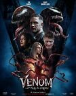 Venom Let There Be Carnage Poster Tom Hardy NEW Movie 2 Film 2021 Print DECAL