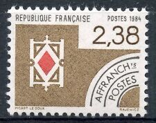 STAMP / TIMBRE FRANCE NEUF PREOBLITERE N° 184 ** CARTES A JOUER / CARREAU