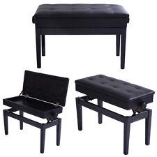 Klavierbank Klavierhocker Schminkhocker Piano Sitzbank Stauraum höhenverstellbar