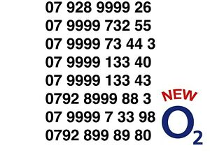 O2 Pay As You Go Mobile Numbers - UK Mobile Numbers - LISTING 3