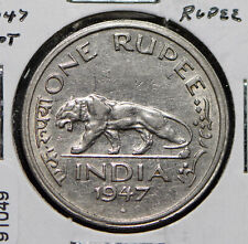 India British 1947 Rupee Lion animal  191049 combine shipping