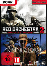 PC Computer Spiel Red Orchestra 2 Heroes of Stalingrad + Rising Storm*NEU*NEW*18