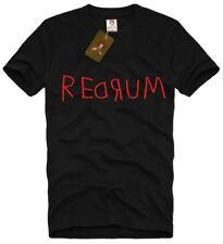 REDRUM T SHIRT unisex murder backwards the shining stephen kings room 237 S-XL