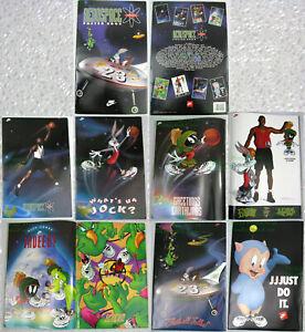 NITF! NIKE Aerospace Poster Book COMPLETE Michael Jordan 🏀 Bugs Bunny 8 posters
