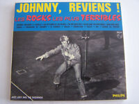 CD DE JOHNNY HALLYDAY, LES ROCKS LES PLUS TERRIBLES , DIGIPACK TRES BON ETAT