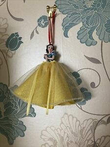 Disney Parks Princess Snow White Sketchbook Christmas Ornament