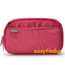 easyfindus Sony PSP Vita Go 1000 2000 3000 SLIM RED game Soft Case Bag cover