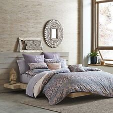 UNDER THE CANOPY Reversible Comforter Set GODDESS, Twin, ORCHID, w/Sham, NEW
