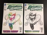 DC Comics Lot Of X 2 Green Lantern New Guardians The New 52 Part Three NM