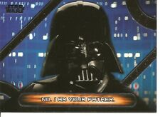 Star Wars Galactic Files Famous Quotes No I Am Your Father Insert Card #MQ-12