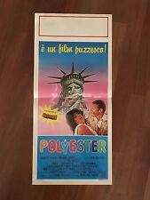 LOCANDINA,s/8  Polyester 1981,John Waters, Divine, Tab Hunter