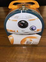 Star Wars - The Force Awakens BB-8 Lunch Box Embossed Metal Tin BB8 - NEW