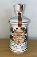 Vintage Old Fitzgerald Bourbon Whiskey Decanter American Sons of St. Patrick