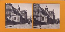 Fontainebleau La Grande rue Photo stéréo Stereoview Vintageargentique