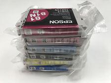 6 x BRAND NEW GENUINE EPSON 81N INK CARTRIDGES FOR T50 Artisan 635 725 730 1430