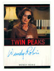 WENDY ROBIE 2018 Rittenhouse Twin Peaks Nadine Hurley Auto Autograph Signed Card