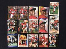 Jerry Rice Football Card Lot of 15 San Francisco 49ers Fleer Metal Ultra Skybox