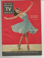 Vintage MARY TYLER MOORE 1962 Cleveland Plain Dealer TV Week Dick Van Dyke show