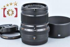 Excellent!! Fujifilm XF 50mm f/2 R WR Black