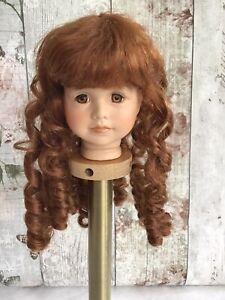 Dolls Wig 25 Cm 10 Inch Long Red Riglets