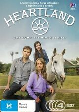Heartland Series  - Season 9 (DVD, 4-Disc Set) NEW