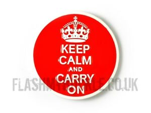 Famous British - Keep Calm And Carry On Belt Buckle - Buckle for Snap On Belts