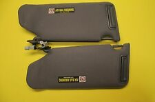 99 00 01 02 03 ACURA TL SUN VISOR SET PAIR  LEFT RIGHT DRIVER PASSENGER OEM