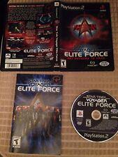 Star Trek: Voyager - Elite Force - Playstation 2, PS2 CIB