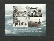 Great Britain 2013 The Atlantic and Artic Convoys Mini Sheet MNH