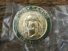 More details for scarce vintage bobby sands enamel badge - irish republican troubles