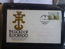 UK 1979 THE GOLD OF EL DORADO ACADEMY OF ARTS SOUVENIR COVER