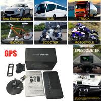 Car SUV HUD Head-up Display Universal GPS Satellite Speed Meter Overspeed Alarm