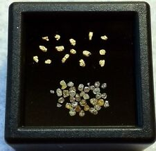 ALASKAN GOLD NUGGETS AND MIXED DIAMOND LOT.       ( 1 WEEK SALE ONLY)    L30