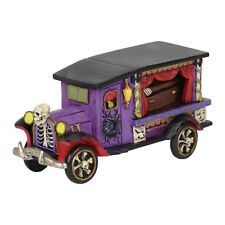 Last Rites Ride Hearse Car Figurine Dept 56 Halloween Village Accessory
