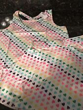 CHILDREN'S PLACE Girl's Rainbow 🌈 Hearts Tank Top & Scooter Size XL 14 NWT