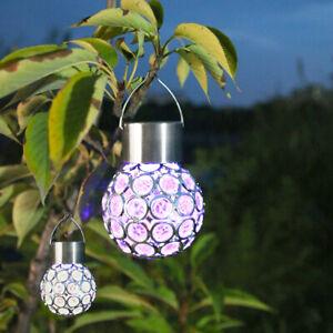 4PCS Ball Lights LED Solar Power Garden Light Wedding Room Party Decor Xmas