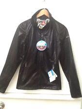 NEW Columbia Silver Sky Softshell Omni-Heat Black Shimmer Zip Jacket Womens XS
