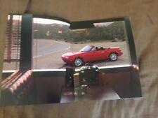1992 Mazda MX5 Miata Roadster Convertible USA Market Brochure Prospekt