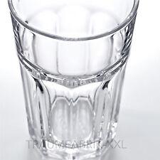 10 IKEA Glas Heißgetränke Wasser Saft Cocktailgläser Trinkbecher 350ml POKAL Set