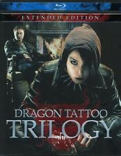 Dragon Tattoo Trilogy (Extended Edition) [New Blu-ray] Extended Edition, Subti