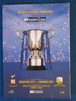 Bradford City v Swansea City - Capital One Cup Final 2013 Programme