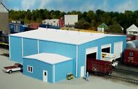 PIKESTUFF RIX 541-8014 N WORK SHOPS STALLS BUILDING Model Railroad Kit FREE SHIP