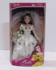 Brass Key Disney Princess Beauty & the Beast Porcelain Doll Belle Wedding Dress