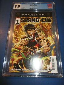 Shang Chi #1 Boseman Tribute CGC 9.8 NM/M Gorgeous Gem Wow