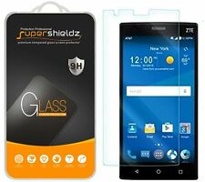 2X Supershieldz Tempered Glass Screen Protector Saver Shield For ZTE Zmax 2