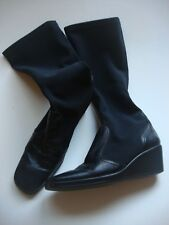 Italian Black Boots - Size 37